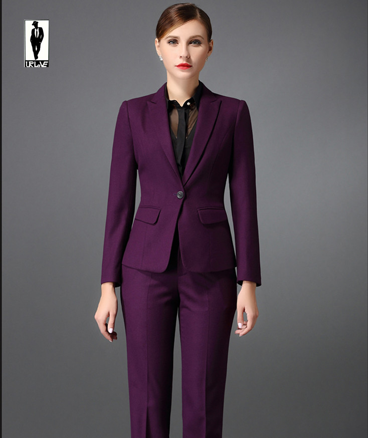 Purple Suit For Women | Tulips Clothing