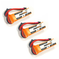 1/2/3 pces cnhl ministar 450 mah 7.4 v 2 s 70c lipo bateria xt30u plug para rc zangão fpv corrida multi rotor peças de reposição acessórios|Peças e Acessórios|Brinquedos e hobbies -