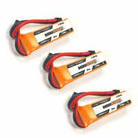 1 / 2 / 3PCS CNHL MiniStar 450mAh 7.4V 2S 70C Lipo Battery XT30U Plug for RC Drone FPV Racing Multi Rotor Spare Part Accessories