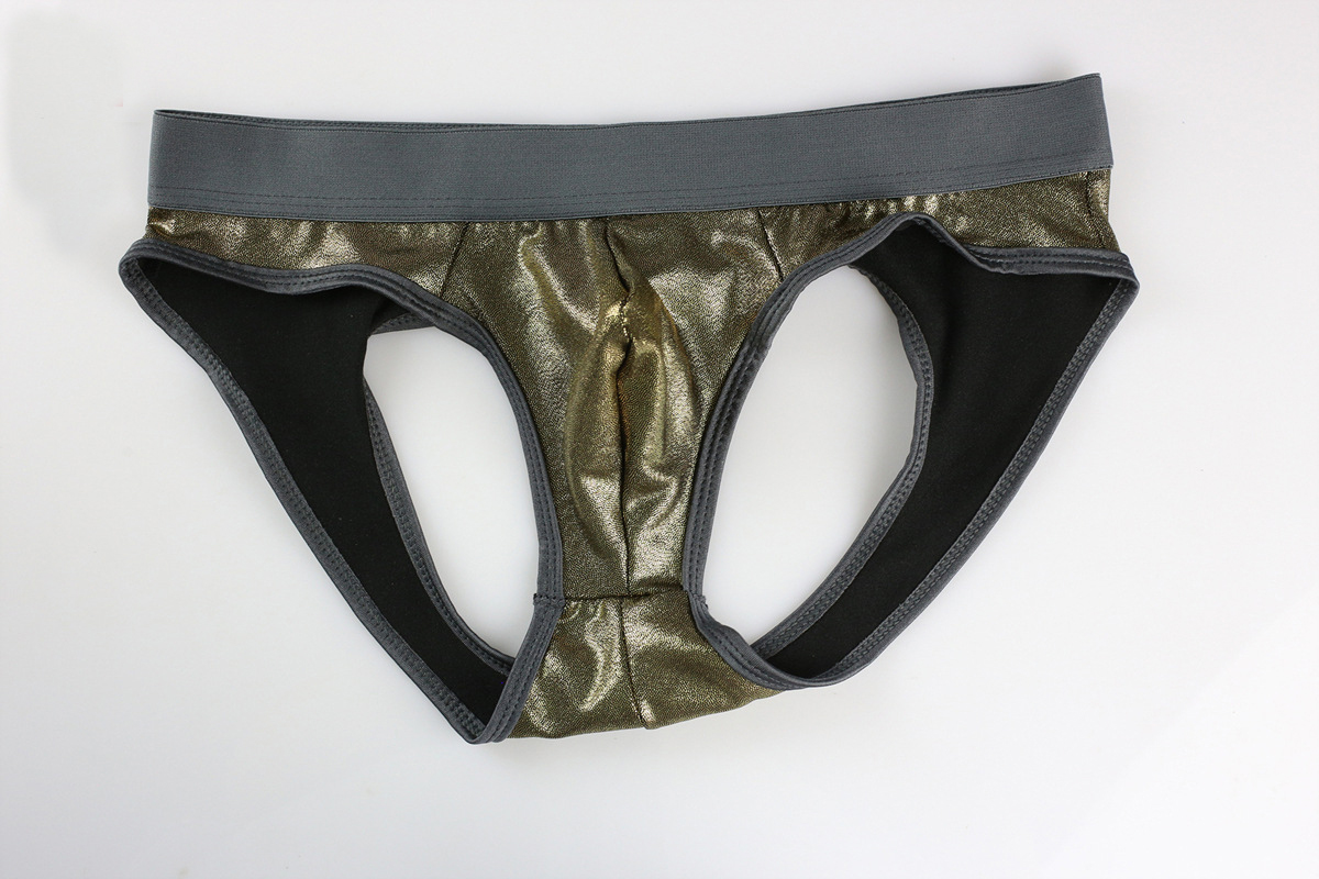 Brand New Sexy Underwear Men Briefs Male Thin Breathable Low-waist Solid Bikini Briefs Brave Person Size S-L
