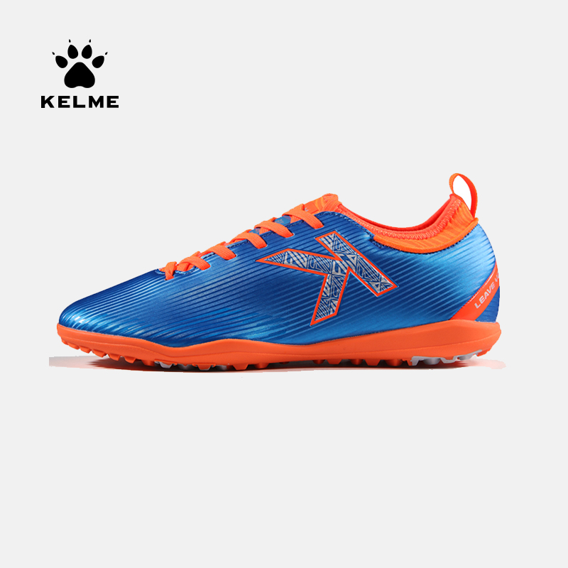 Kelme 2019 Non slip wear Men Soccer Competition Training Phantom Vision Academy TF Soccer Shoes TURF