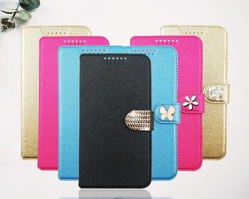 Перейти на Алиэкспресс и купить Для bq mobile 5004g fox 4001g cool 5010g spot 5521l rich max 6010g специальный чехол из искусственной кожи с цветочным принтом и бабочкой