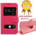 Prestigio 7600 телефон чехол, Кожи сальто открытое Windown чехол для Prestigio MultiPhone 7600 DUO бесплатная доставка
