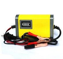 Totalmente Automático Carregador de Bateria Carregador de bateria 12 V Caminhão Do Carro Da Motocicleta Carregador de Bateria Da Motocicleta