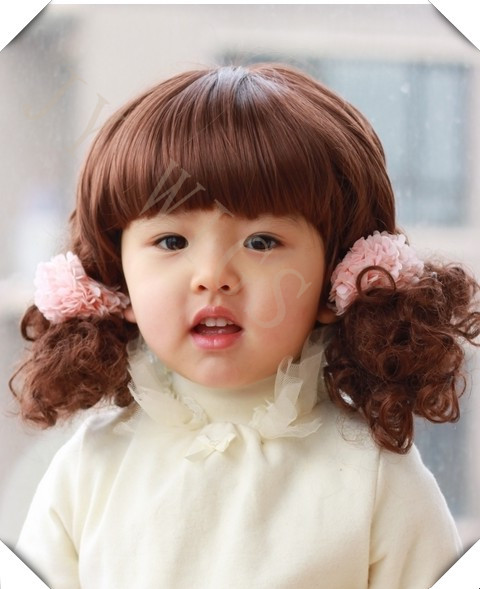 Baby Girl Short Hair Style