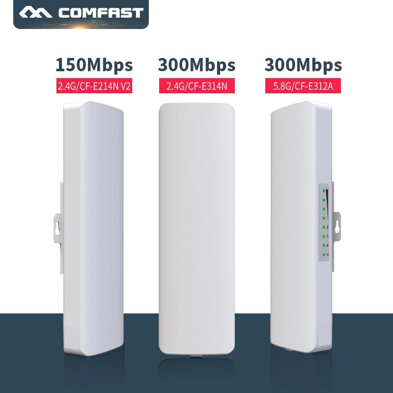3 Type, 2.4G, 5G extérieur CPE pont 150 Mbps et 300 Mbps longue portée Signal Booster extender sans fil AP 14Dbi point d'accès extérieur