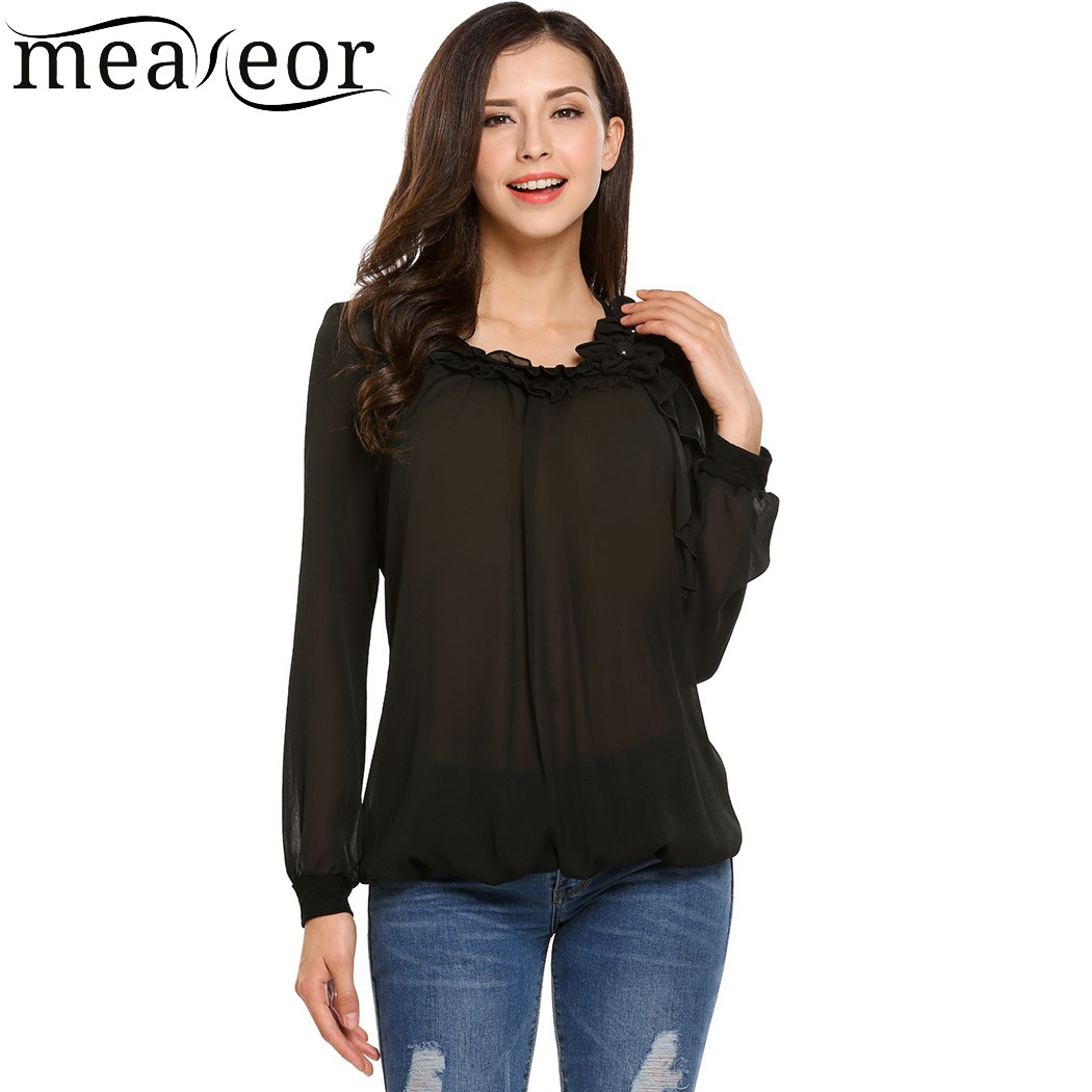 Online Get Cheap Front Ruffle Blouse -Aliexpress.com | Alibaba Group