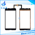 10 pieces HK free shipping tested replacement repair parts for Sony Xperia E4G E2003 E2033 touch screen digitizer assembly