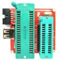 Бесплатная Доставка!!! высокое Напряжение Последовательный Параллельный программатор AVR Unlocker ATtiny2313A модуль