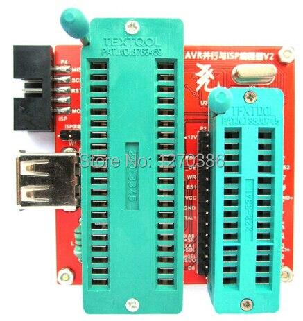 Gratis Verzending! Hoogspanning Seriële Parallelle AVR programmer Unlocker ATtiny2313A module