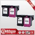 CP 652 оптовая продажа для HP652XL 652 чернильный картридж для HP DeskJet 1115 1118 2135 2136 2138 3635 3636 3835 (2BK/2C)