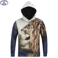 15-20 years teens boy brand hooded sweatshirt boys fashion design lion 3D printed hip hop hoodie winter style hoody MH11