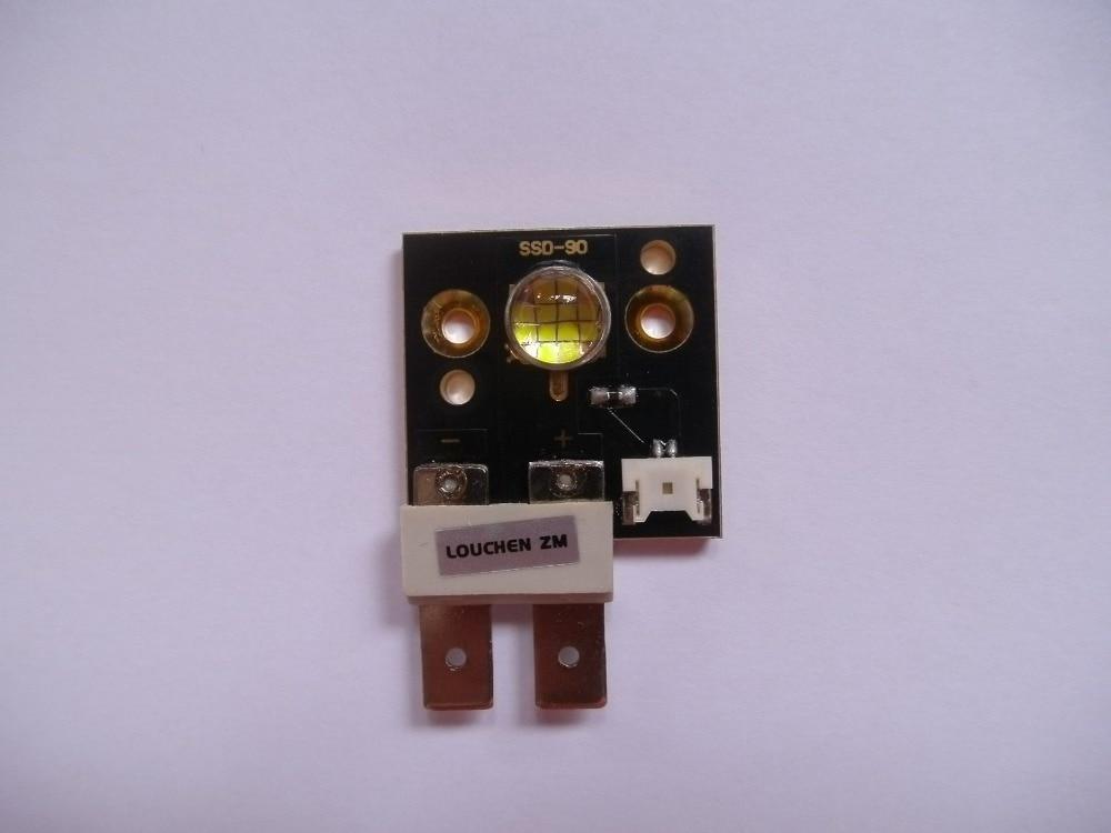 4pcs Moving Heads 75w Led Modules 6500k 3000 Lumens Brighter Than CST90 SSD90 For Mini Moving Head Led Spot Light brighter than phlatlight 60w led chip module cst90 ssd90 60w led moving head lights source 6500k 3000 lumen