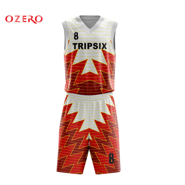 34145d10d4ed Men new style sublimation custom basketball jersey china color orange