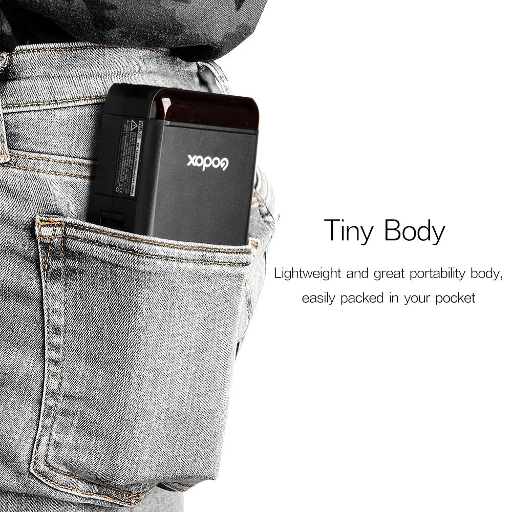 Godox AD200 200Ws 2.4G TTL Flash Strobe 1/8000 HSS Monolight 2900mAh - Kamera və foto - Fotoqrafiya 2