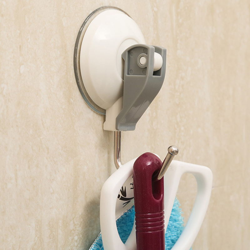 Stouge 1PC Home Powerful Vacuum Suction Cup Hooks Kitchen Bathroom Towel Strong Sucker Wall Hooks Hanger Organization HooksStouge 1PC Home Powerful Vacuum Suction Cup Hooks Kitchen Bathroom Towel Strong Sucker Wall Hooks Hanger Organization Hooks