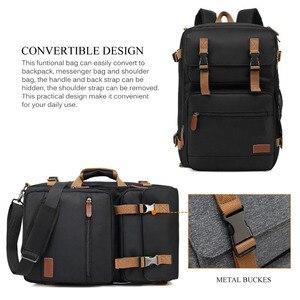 Image 3 - Multi functional Backpack Men Laptop Bag 17.3 Inch For Macbook Pro 15 Laptop Briefcase Travel Bag Laptop Bag 15.6 Inch