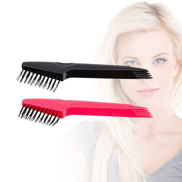 Brush Hand Tools Pratical Pink Handle Hair Durable Comb Cleaner Brush Cleaning Remover Embedded Tool Lightweight Ideal For Travel Use For Sale