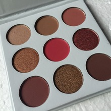 NEW Holiday Edition Kyshadow Bronze Burgundy Palette 9 Colors Kyshadow Cosmetics Matte Eyeshadow Palette Glow Kit Sweet Nake