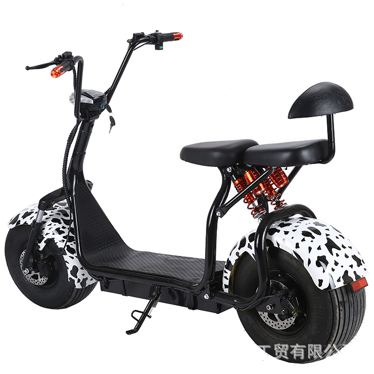 Scooter eléctrico tipo chopper 1000W