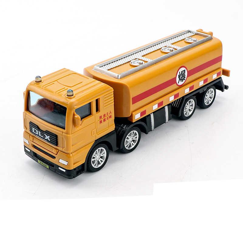 Новая детская Инженерная игрушка, модель автомобиля миксер грузовик экскаватор мальчик девочка имитация инерции детская игрушка сплав подарок Новая игрушка