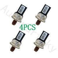 4PCS Fuel Rail Pressure Sensor 55PP06 03 9658227880 1920GW For Peugeot 307 206 Citroen C1 C2 C3 C4 Xsara Berlingo Picasso 1.4