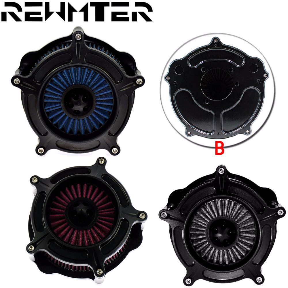 Doelstelling Air Filter Cleaner Turbine Voor Harley Touring Dyna Wide Ultra Street Glide Breakout Deluxe Heritage Springer Softail 93-15 Met Traditionele Methoden