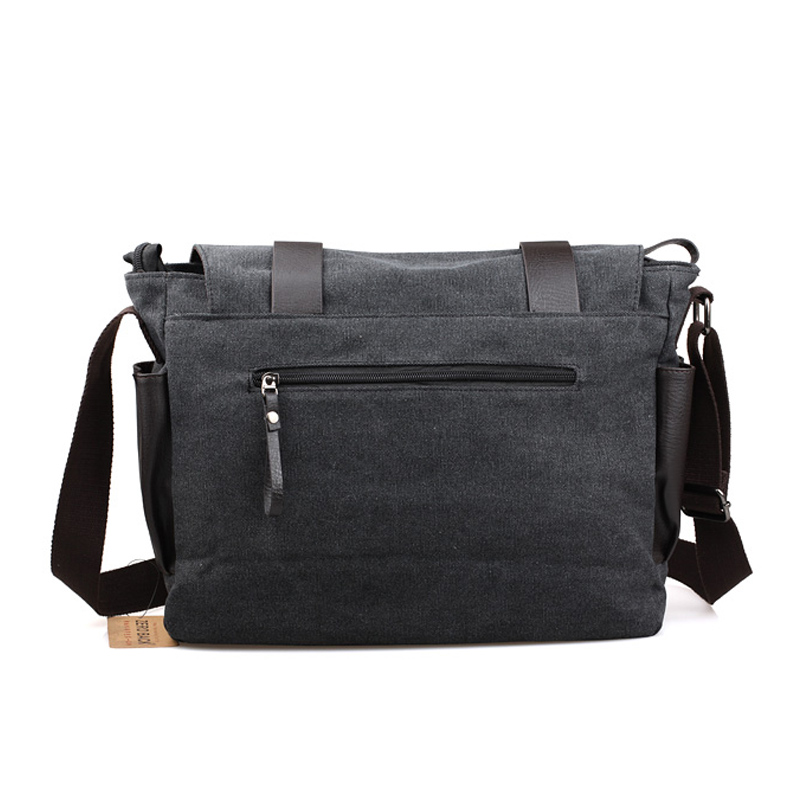 YOANME High Quality Canvas Messenger Bag Casual Travel Crossbody Bag Side  Pockets Men Shoulder Messenger Bag Men Side Bag SY1046-in Crossbody Bags  from ... 5a7956d6f3a29