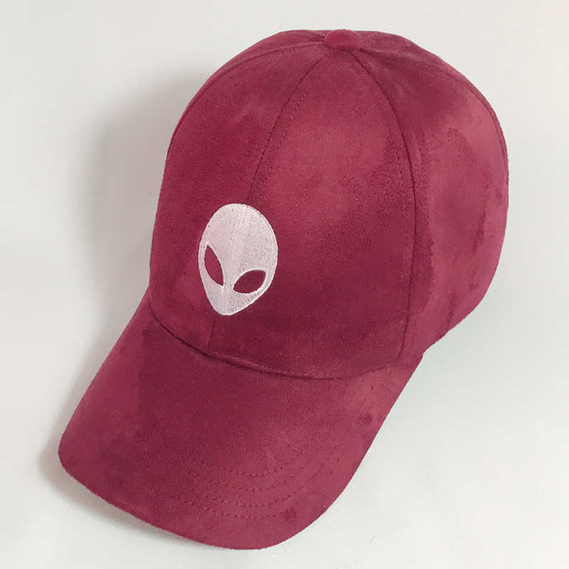 aliens saucer man E.T UFO fans embroidery black snapback suede summer Baseball Cap Gorras Hip Hop Caps Suede Hats for Ladies feitong summer baseball cap for men women embroidered mesh hats gorras hombre hats casual hip hop caps dad casquette trucker hat