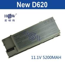 5200 mAh 6 celdas de Batería Portátil Para Dell Latitude D620 D630 D631 M2300 KD491 KD492 KD494 KD495 NT379 PC764 PC765 PD685 RD300 TC030