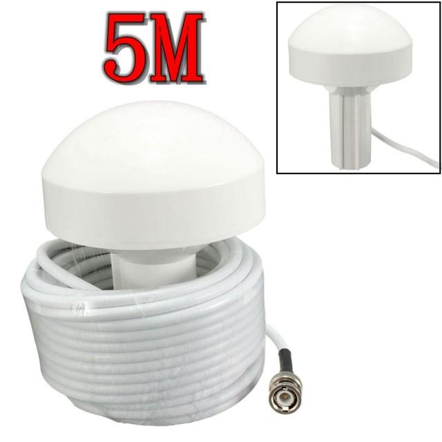 KROAK Marine Boat Receptor GPS Externo Antena BNC Plugue Macho Conector 5 metros