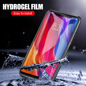 Image 5 - Película de hidrogel para Xiaomi, filme protetor macio para Xiaomi Mi 8, 9, Lite, Pocophone F1, Mi 6, A2 Play, Mix 3, Mi6X, Mi6, Mi8, Mi9 SE, Mi 9T