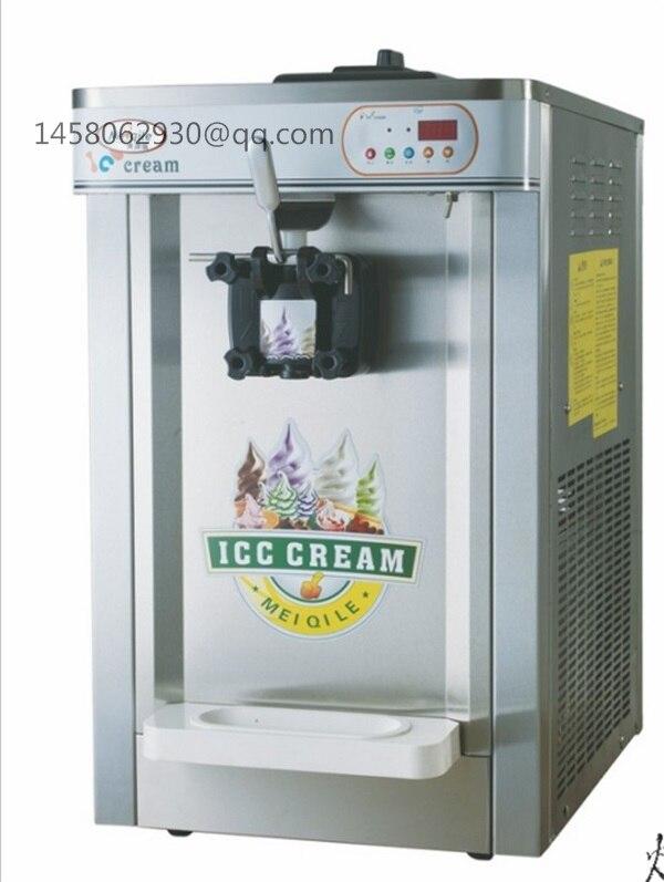 Machine à crème glacée molle de table machine à crème glacée machine à crème glacée molle avec CE approuvé