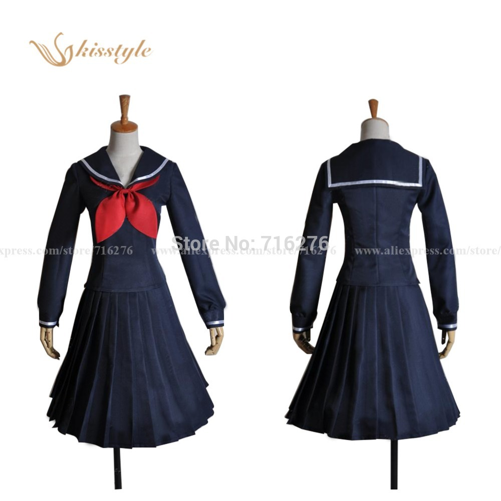 Kisstyle mode crépuscule jeune fille d'amnésie Anime Yuko Kanoe école uniforme Cosplay Costume sur mesure