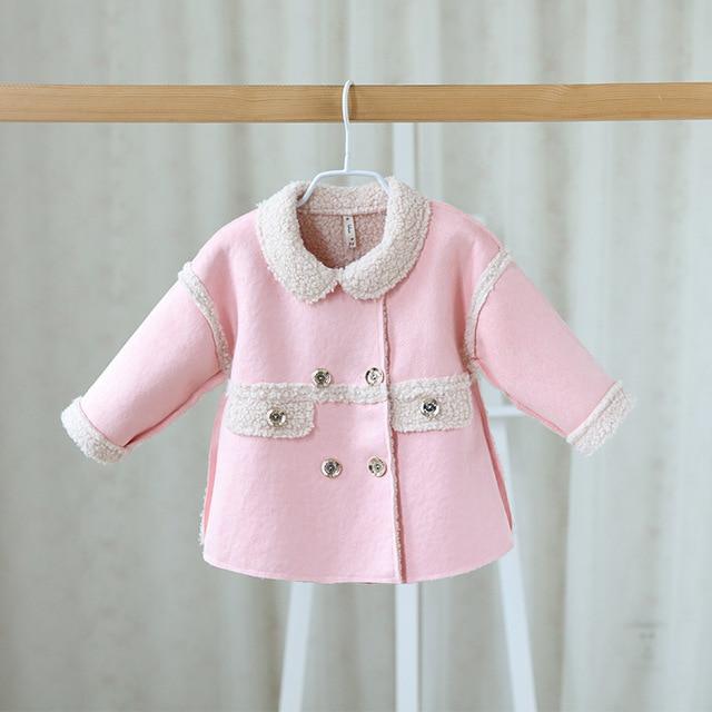 1ec6fac9c Baby girls spring autumn jackets cardigan baby kids coat children ...