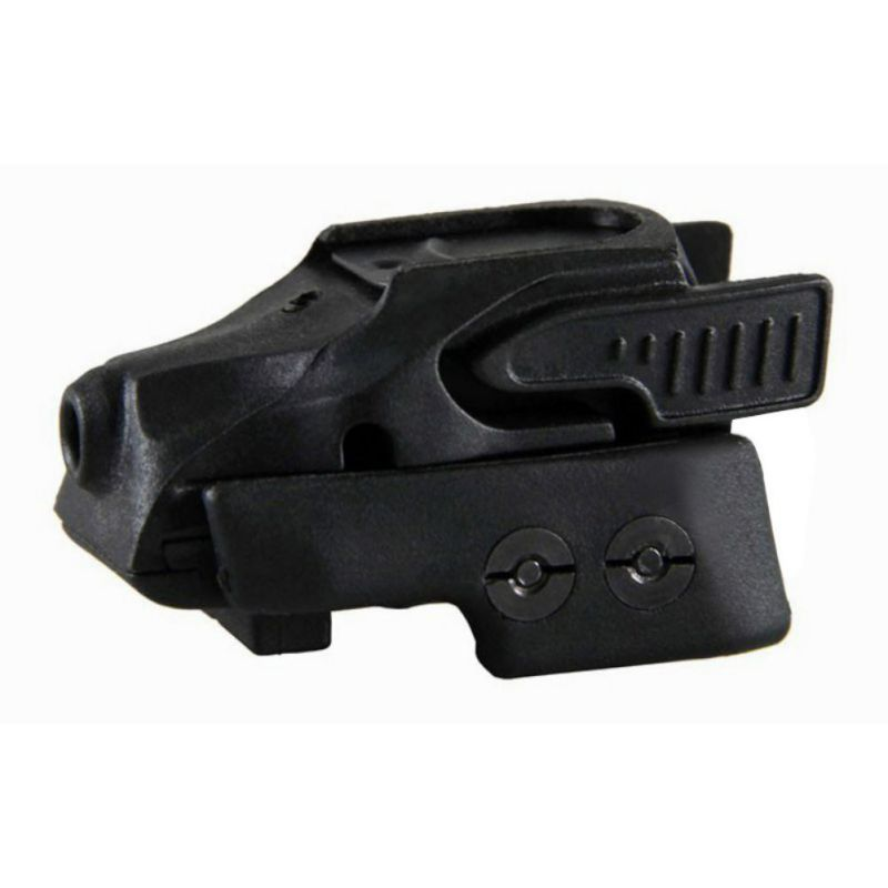 Universal Black Small Red Dot Laser Sight For Glock, Pistol, hunting rifle, and Shotgun With M1913 Picatinny or Weaver LM43