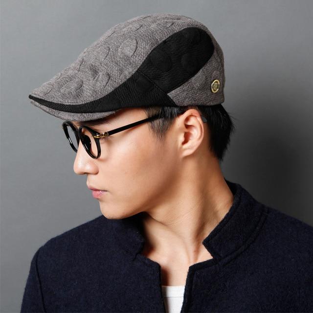 Hat Men beret hat male women s lovers vintage fashion hat-in ... 120ff1d59c1