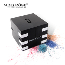 Miss Rose 142 Warna Matte Eye Shadow Palette Glitter Shimmer Eyeshadow Tahan Air Mencerahkan Long Lasting Luminous Makeup Natural