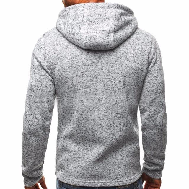 Winter Hoodie Male Cardigan New Long sleeve hoodies men Zipper Sweatshirt Hoodies