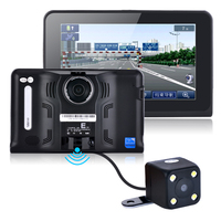 7 дюймов 16 ГБ Android Автомобильные GPS навигаторы навигации заднего вида cameratruck автомобиля GPS навигатор Планшеты ПК автомобиля Антирадары