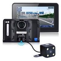 7 pouces 16 GB Android Véhicule GPS Navigation vue Arrière cameraTruck Voiture GPS Navigator Tablet PC De Voiture Détecteur de Radar