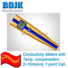 0~10.00ms/cm Digital Conductivity Meters with Temp. Display Pocket CON Tester