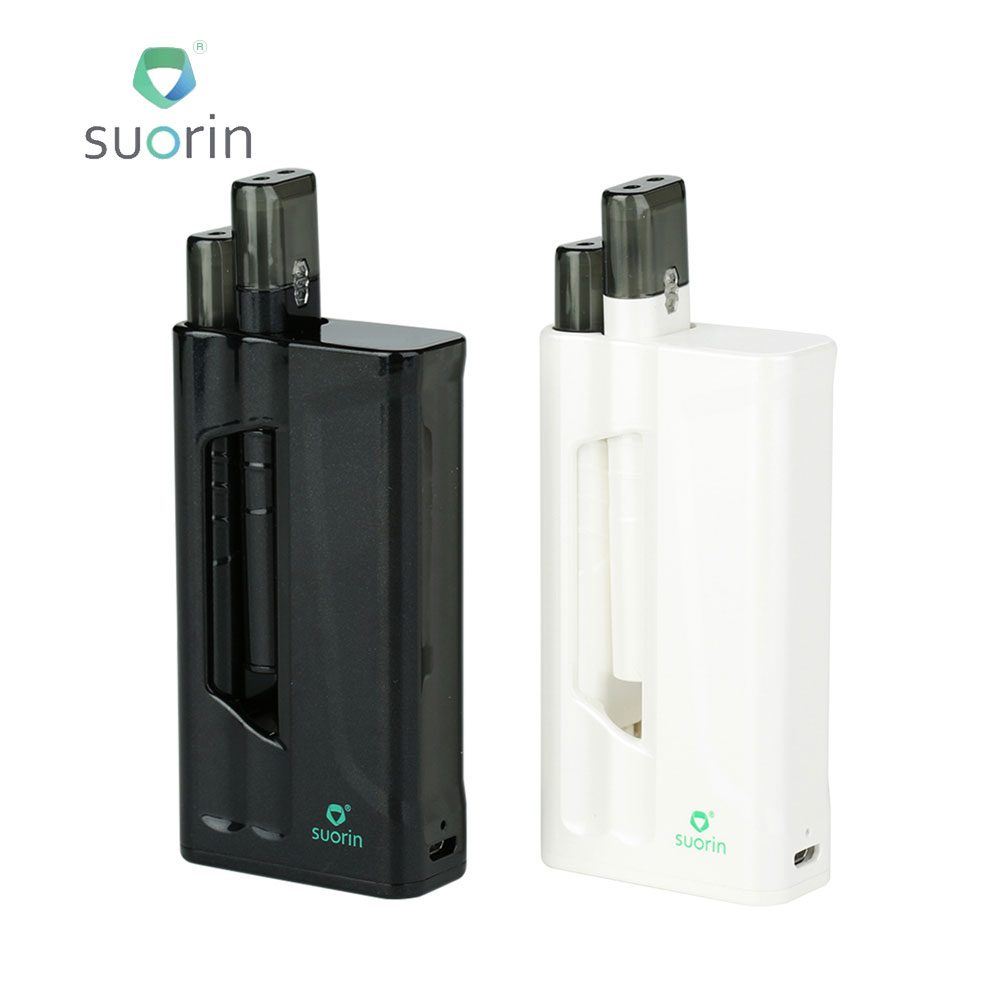 Original Suorin IShare Vape Starter Kit Built-in 1400mAh Battery & 0.9ml Cartridge Max Output 9W E-cig Vape Kit Vs Suorin Air