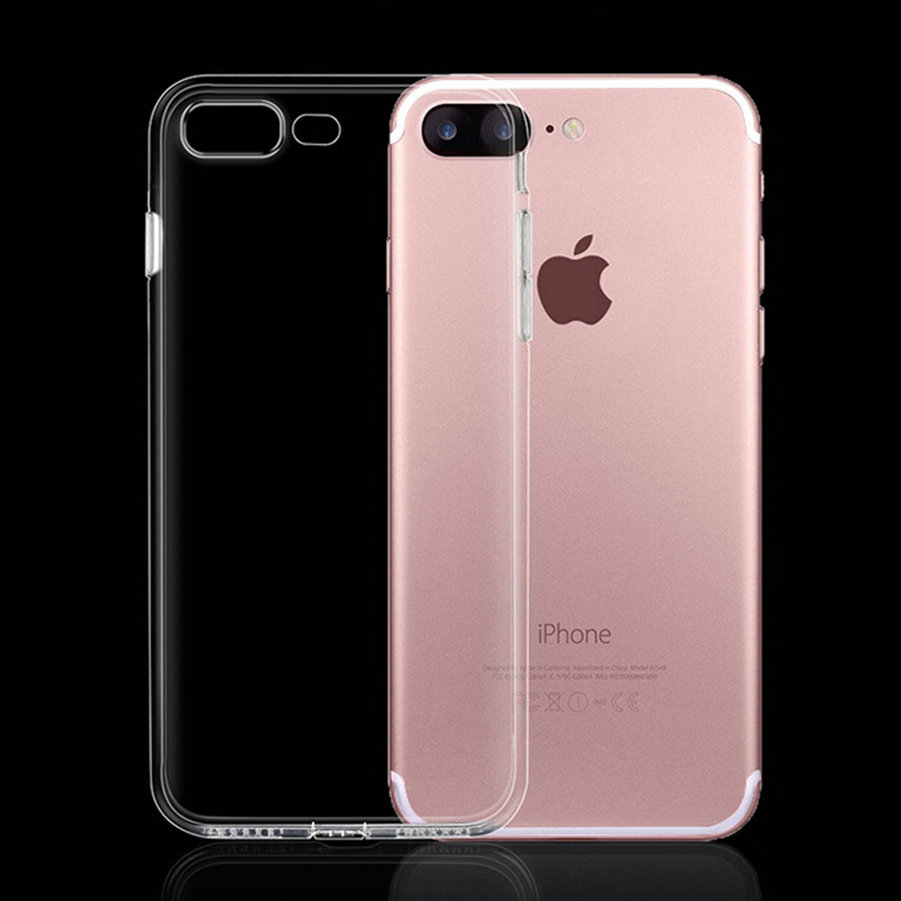 Transparent Clear Case for iPhone 7 Case for iPhone 7 Plus Soft Silica Gel TPU Silicone Ultra Thin Phone Cover 6 6s plus