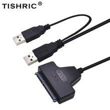 Tisanctuic – câble SATA vers USB pour disque dur, adaptateur USB 2.0 pour disque dur, 22 broches Molex