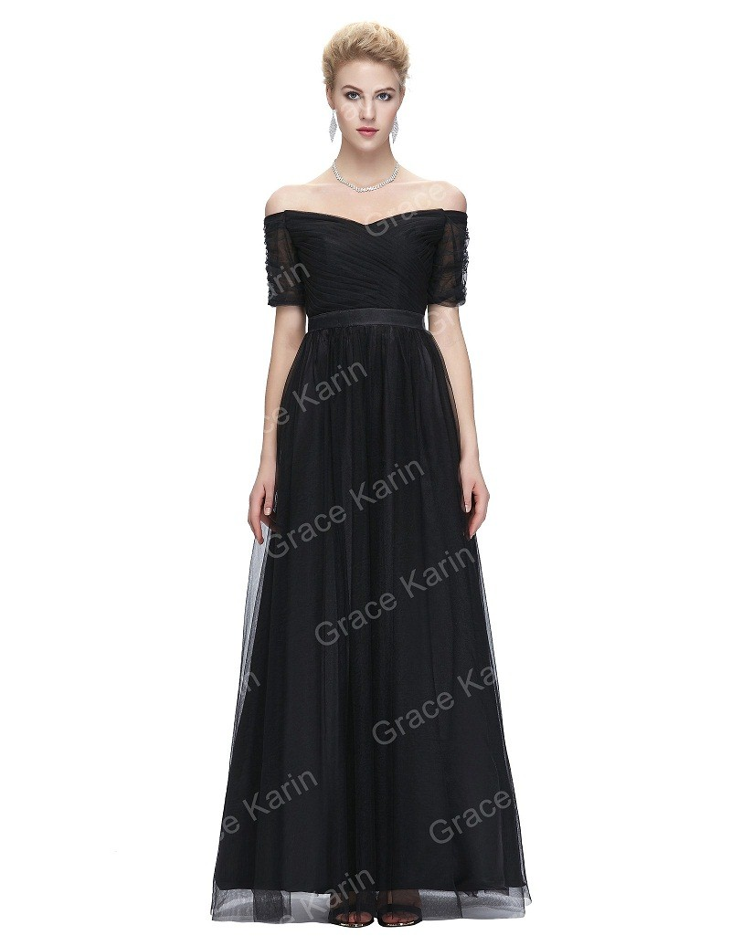 Short Sleeve Formal Evening Dress Gowns Weddress
