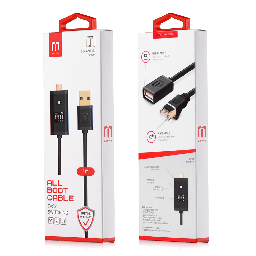 Martview MRT Dongle MRT Key Mobile Repairing Tools Martview All Boot Cable  EASY SWITCHING Micro USB To Type-C Adapter