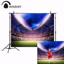 Allenjoy スポーツ背景 photocall サッカーサッカー競技ための写真の背景写真撮影写真撮影 photophone