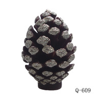 Q-609 Christmas Eve pine cones candle mold soap mold Resin,Clay Crafts Mould Salt Carving Form