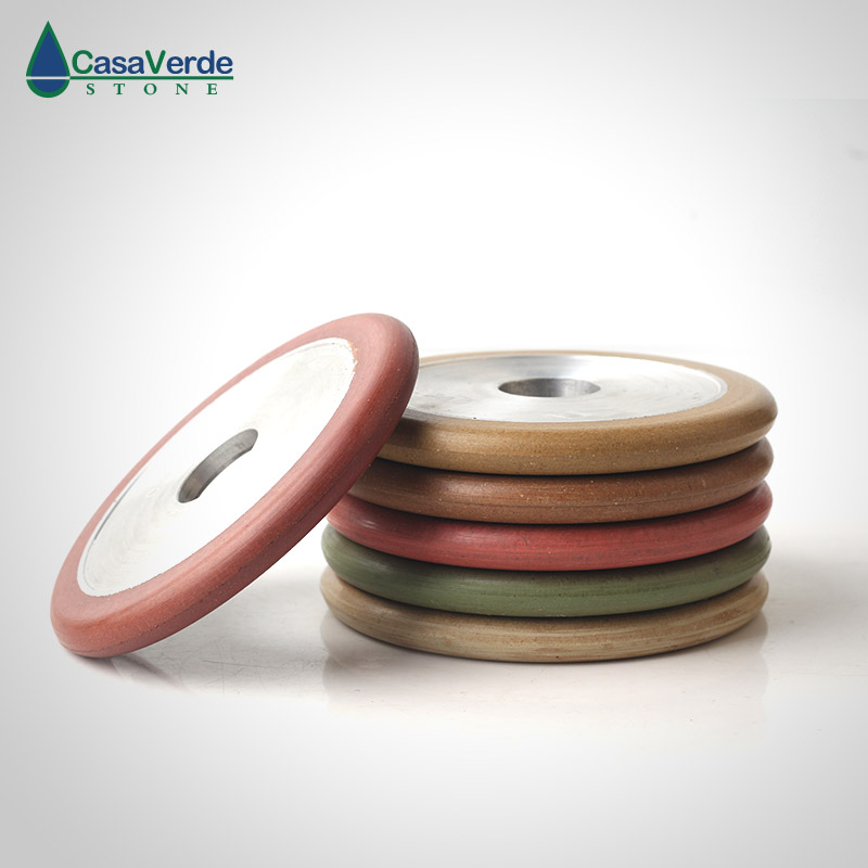 Free shipping 4 inch resin wet use fluting wheels 100mm thickness 16mm for flute grinding granite
